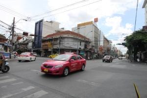 Anfang der Khao San Road