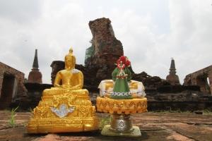 Tempelruine Ayutthaya