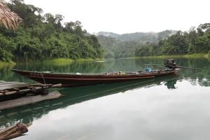 unser schönes Longtail Boat